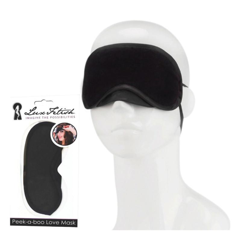 Masque Luxe Fetish noir