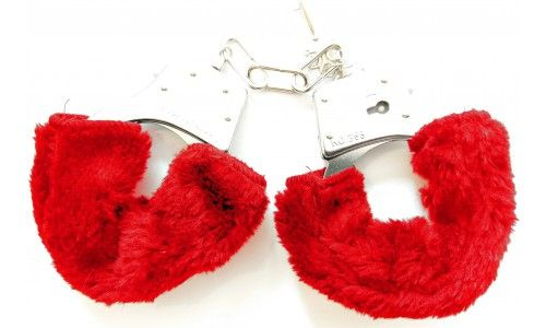 Menottes LOVE HANDCUFFS rouge