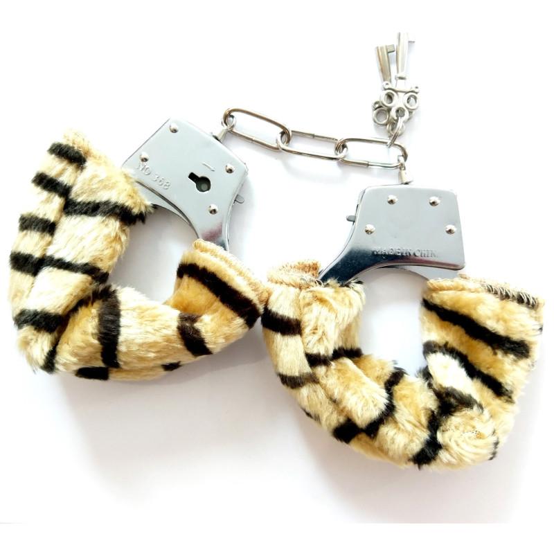 Menottes LOVE HANDCUFFS tigre