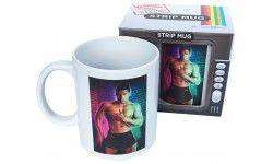 Mug strip-tease homme