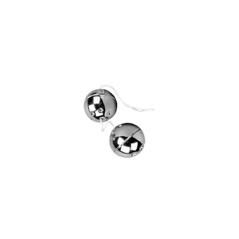 Boules de Geisha argent Ø3cm