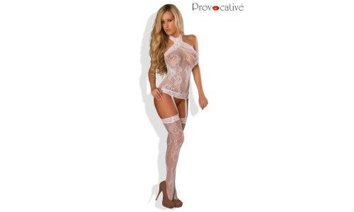 Bodystockings blanc S-L