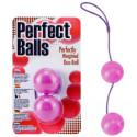 Boules Geisha Perfect Balls mauve Ø3cm
