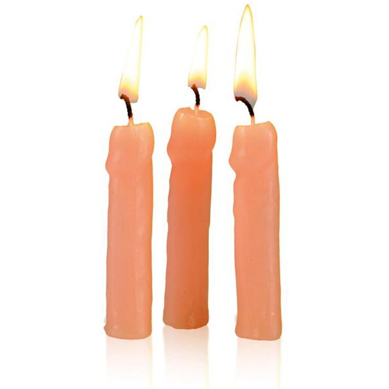 6 petites bougies pénis (long.7cm)
