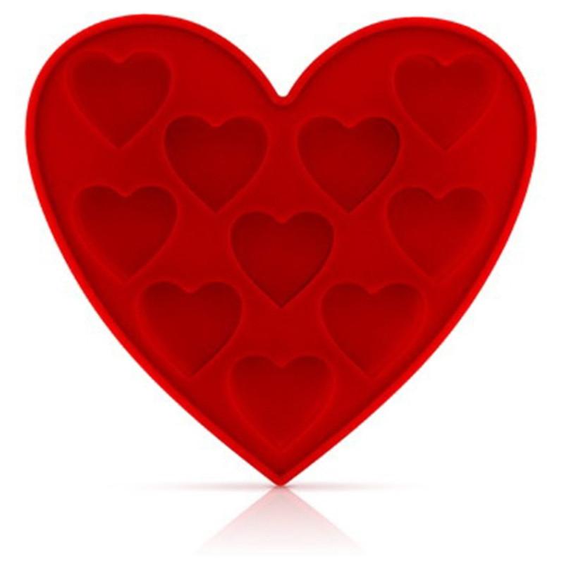 Moule à glaçons Fresh Love en forme de cœur