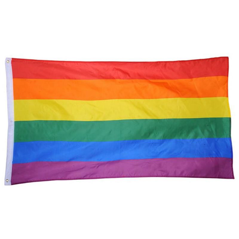 Drapeau gay rainbow 90x150cm