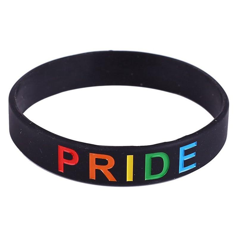 Bracelet silicone Rainbow PRIDE