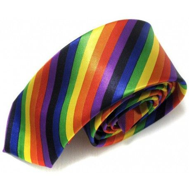 Cravate Arc-en-Ciel LBGT